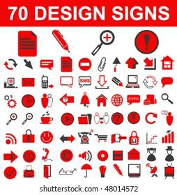 Design Signs Set