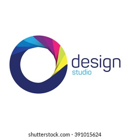 Design studio logo. Creative logo. Business corporate logo