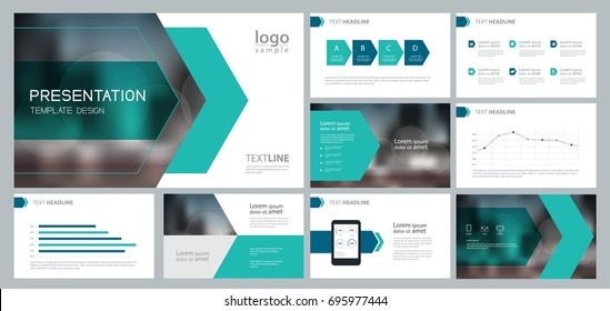 Business presentation templates infographic elements use stock design template for business presentation and page layout for brochure book annual report and cheaphphosting Images