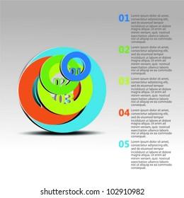 Design template vector. Vector