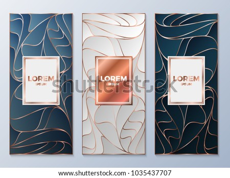 design templates flyers booklets greeting cards stock vector