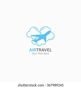 Design Travel Logo. Vector Illustration