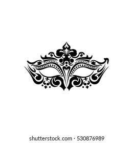 Design Vector Festive Carnival Mask.