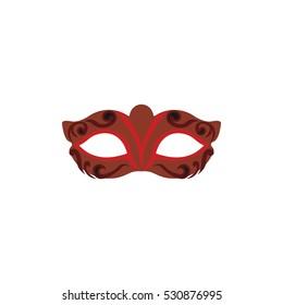 Design Vector Festive Carnival Mask.