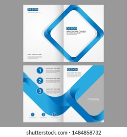 Design vector template layout for company profile ,annual report with cover, brochures, flyers, presentations, leaflet, magazine, book.