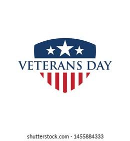 design vector template Veterans day. Honoring all who served. November 11.