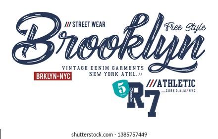 design vector typography varsity for print t shirt
