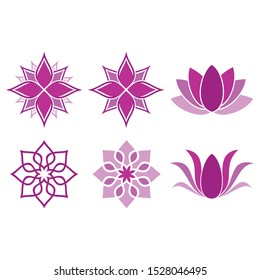 design vector yoga logo icon symbol