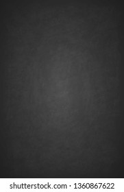Design wiped a dirty board. Realistic blank black chalkboard. Background for school or restaurant menu design. Old texture, can use as background. Black board. Vector illustration