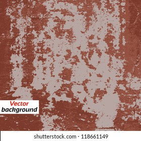 Designed grunge paint texture on the wall, background