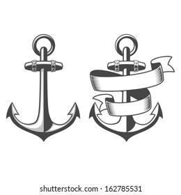 Designed nautical anchors