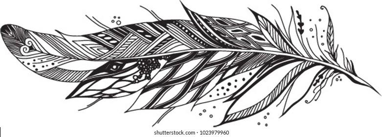 designer goose feather