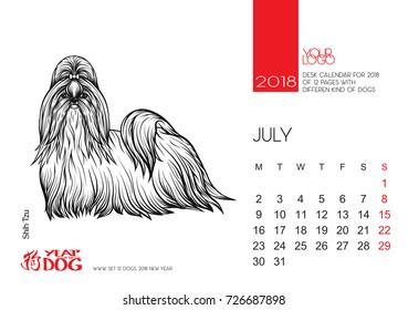 Chow Chow Dog Red Santa Claus Stock Vector Royalty Free 764231569