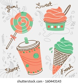 dessert doodle