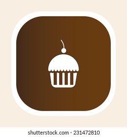 dessert graphic design , vector illustration