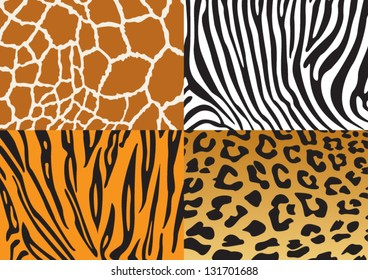 Destruction of the beautiful wildlife mammals
