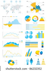 detail info-graphic vector illustration