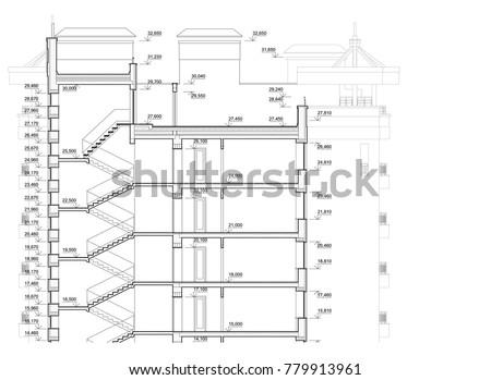cross sectional plan