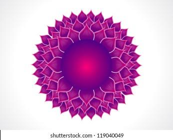 detailed crown chakra vector illustration
