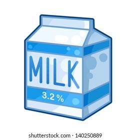 cartoon milk carton images stock photos vectors shutterstock rh shutterstock com cartoon picture of milk carton milk carton cartoon vector