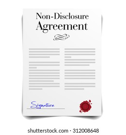Royalty Free Nondisclosure Agreement Images Stock Photos Vectors