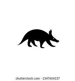 Detailed and isolated illustration of the mammal aardvark vector