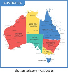 Map Of Victoria Australia With Cities.Victoria City Australia Stock Vectors Images Vector Art