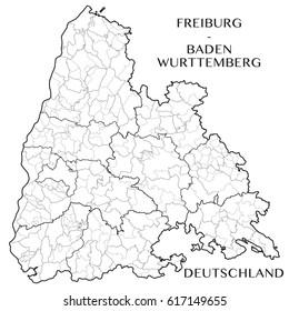 freiburg Map Stock Images RoyaltyFree Images Vectors Shutterstock
