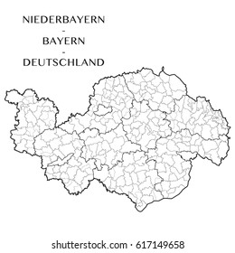 Bayern Map Images Stock Photos Vectors Shutterstock