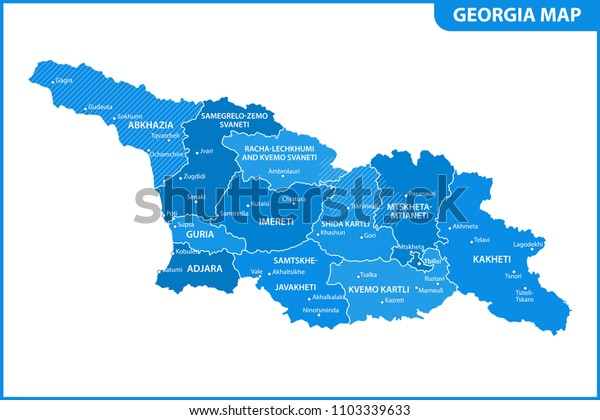 Detailed Map Georgia Regions States Cities Stock Vector ... on georgia piedmont region, 2nd grade georgia rivers map, blank georgia map, okefenokee swamp georgia map, georgia trade map, georgia cities, georgia habitat map, georgia state outline, georgia ridge and valley, georgia country map, georgia geographical features, georgia features map, www.georgia map, georgia republic map, blue ridge georgia map, georgia road map detailed, georgia climate map, georgia state map, brunswick georgia map, georgia economy map,