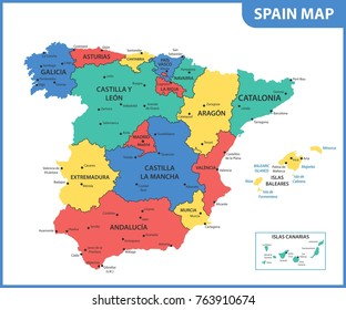 Map Of Extremadura Images Stock Photos Vectors Shutterstock