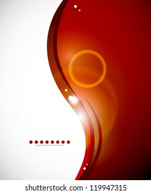 Detailed orange abstract background