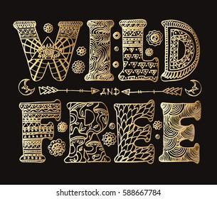 Detailed ornamental golden
