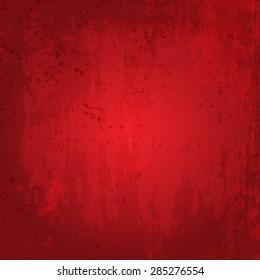 Detailed red grunge background