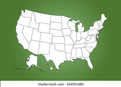 Detailed USA Map