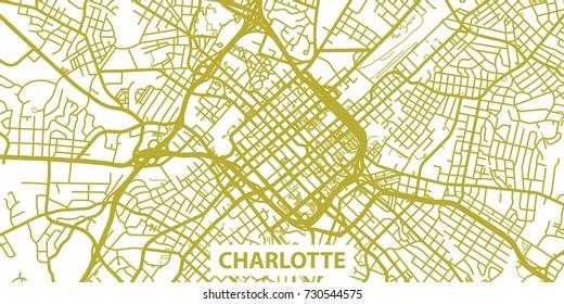 Charlotte Map Images Stock Photos Vectors Shutterstock