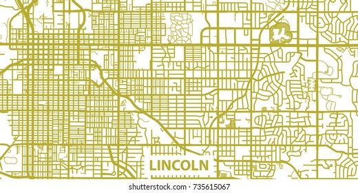 Royalty-Free Lincoln Nebraska Map Stock Images, Photos ...