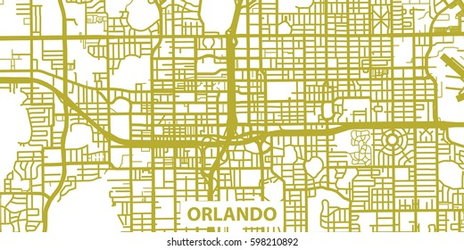 Detailed Map Of Central Florida.Royalty Free Orlando Map Images Stock Photos Vectors Shutterstock
