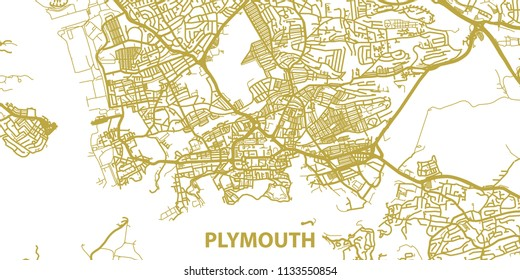 Plymouth Map Images Stock Photos Vectors Shutterstock