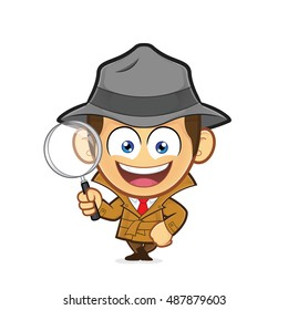 Image result for detective cartoon