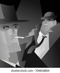 detective mafia interrogation