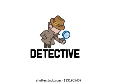 Detective Sheriff Logo Symbol Vector Design Illustration