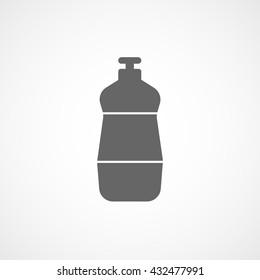 Detergent Icon On White Background