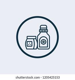 Detergent icon. Vector illustration