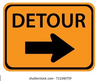 Detour Images Stock Photos Vectors Shutterstock Detour