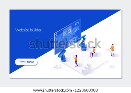 Development Software Mobile App Optimization Platform Internet Stock