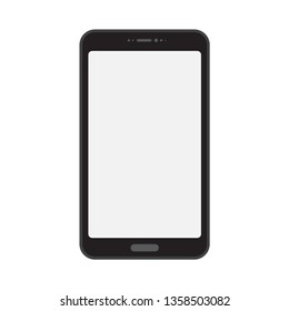 Device Mockup smartfone, new phone vector drawing isolated on white background