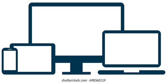 devices vector icons