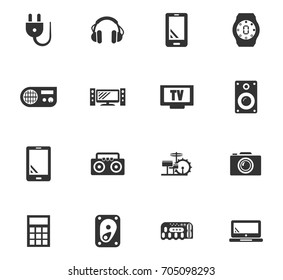 Devices vector icons for user interface design