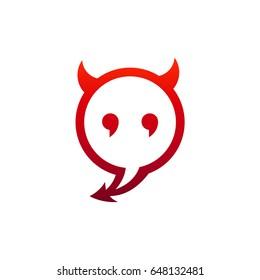devil logo images stock photos vectors shutterstock rh shutterstock com devil looking kettlebells deliv logo